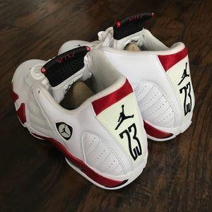 8fe489c4f8b640 Jordan Shoes - Jordan Retro 14 9.5 Candy Cane 487471 101